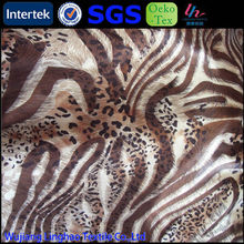 polyester and nylon fabric for zebra pinto mustang pattern