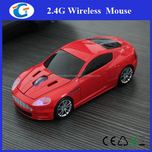 Christmas promotional gift tablet pc wireless car mouse