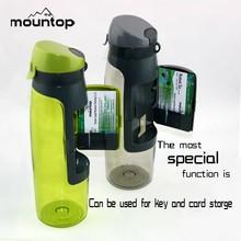 Juice plastic bottle Food grade Tritan 100%BPA free gym water bottle