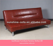 American Living Style Leather Sofa Bed Furniture