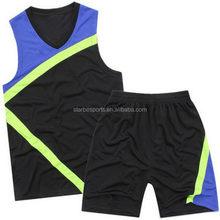 Top grade best selling latest basketball uniform design