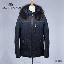 fashion men's jackets cotton-padded clothes Sheepskin winter coat outdoor jacket
