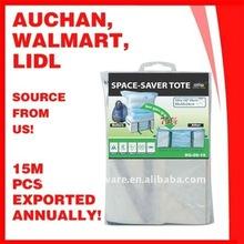 Plastic Bedding Vacuum Save Space Bag with Storage Case