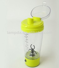 Eco-friendly Food Grade Factory Directly Plastic Electric shaker bottle