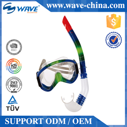 On Promotion Super Quality Oem Design Children Diving Mask And Snorkel Set