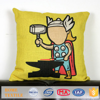 Houseware Creative Superheros Series Printed Pillow Case Home Decor Sofa Cushion Covers Lace Sofa Cover