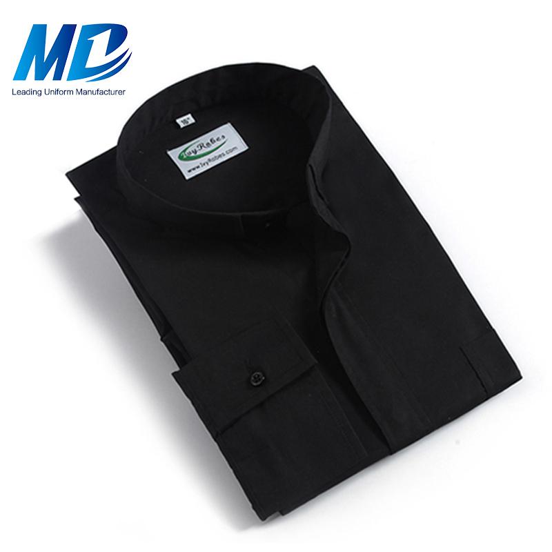 С коротким рукавом церкви духовенства рубашка с высоким качеством