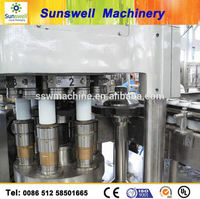 Soft Drink Making Machines Can Beverage Aluminum Can Filling Machine