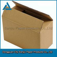 customized storage box brown kraft corrugated board mailing box