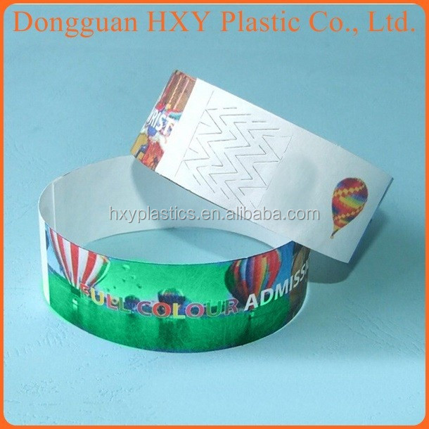 wristbands paper cheap
