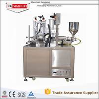 Automatic Plastic Tube Filling And Sealing Machine HX-006