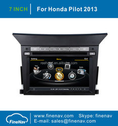 7inch GPS DVD Car Audio for Honda Pilot with Gps Navi,3G,Wifi,A8 Chipset ,Bluetooth,Ipod,Free map Support DVR,DVB-T