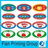 fruit shop oval picture sticker maker
