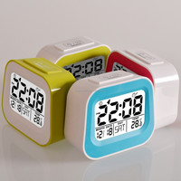 Retro TV shaped kids digital alarm clock, Calendar clock, fashion alarm clock