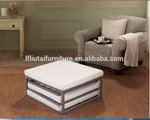 Guest Folding Bed With Metal Frame And Reversible Memory Foam Mattress