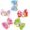 Boutique Hair Bows Pearl Ribbon Mixed Colors Hair Bows