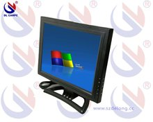 15'' LCD touch screen monitor with VGA,TV optional