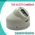 2014 Outdoor 1 pc array led High-focus Dome CCTV Camera