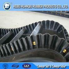 Corrugated Sidewall Conveyor Belt Trough Conveyor Rubber Belt