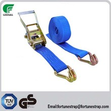 100mm CE/GE approved 22000lbs blue color tie down strap/cargo lashing
