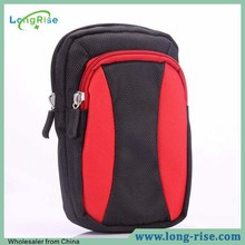 Wholesale Multi-function Travel Bag Ziplock Sports Bag Dual Color Cell Phone Bag for Phone 5.5 inch