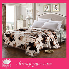 100 Polyester Mink Blanket Animal Printed Mink Blankets, Korean Mink Blankets Wholesale