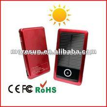 Hot 2000mAh solar panel electric supercharger