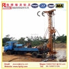 Tractor drill rig for earth drilling equipment