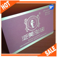 Full color printed pvc deluxe smart card