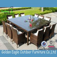 outdoor indoor garden rattan wicker aluminum dining set sale outdoor rattan furniture