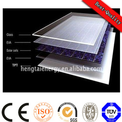 solar power energy pv solar panel thin film laminated solar panel