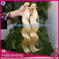 Chinese merchandise free sample human hair weave packaing, quality brazilian hair extension, blonde body wave human hair