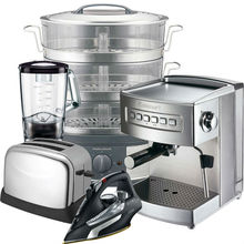 Raw Returns Small Domestic Appliances (SDA) Kitchenware Irons, Kettles, Blenders, Toasters, Coffee Machines & Steamers