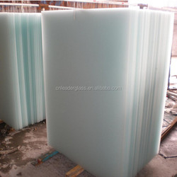 2mm Competitive Price Acid Etched Glass For Decorative Office And Home Interior