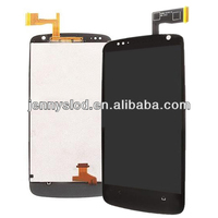 Original lcd cell phone lcd with digitizer for HTC desire 500 black