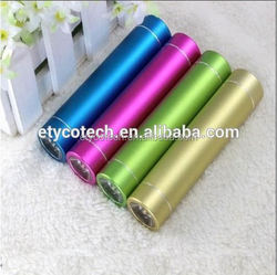 2015 hot made in china best quality one time charge power bank