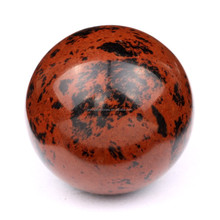 221g Natural Polished Red Pietersite stone mineral Sphere Ball