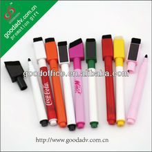 Guangzhou factory supply low price promotion gift white dry erase marker pen