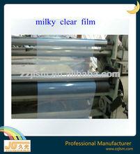 4mil milky clear screen printing film, translucent waterproof inkjet film