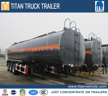 TITAN bitumen tanker semi trailer, heated asphalt bitumen pitch tanker trailer