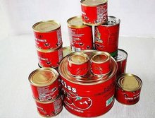Hot Sell Health Food Good Quality Natural Fresh Tin Canned Red Tomato Paste 3.0kg*6tins/ctn