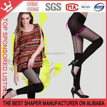 Ultra-Thin Ice Silk Stockings Black Transparent Sexy Stockings Women