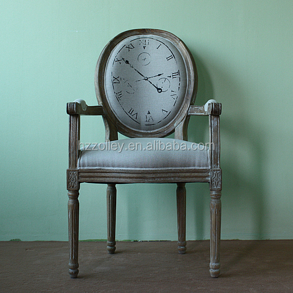 Royal old fashioned style bride office chair wood material chairs