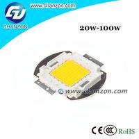 Factory Price 20w 30w 50w 70w 100w Epistar Integrater high power Led chip 100w warm white led