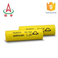aa900mah 1.2v ni-cd battery high quanlity