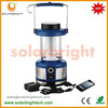 Manufactured 8 years experience emergency led solar rechargeable lantern solar camping lantern with cell phone charger FM radio