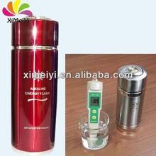 Negative ions alkaline water water ionizer bottle