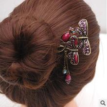Chino antiguo Accesorios para el cabello de las mujeres borlas de la mariposa Accesorios para el cabello Classic
