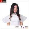 Custom disposable hair cape, non woven disposable cape, disposable salon cape
