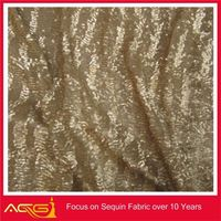 Three tones of sequin embroidery fabric sequin attachment for embroidery machine